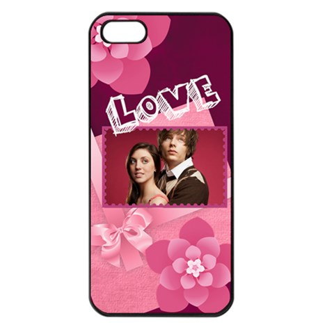Love By Joely   Apple Iphone 5 Seamless Case (black)   B6jes03oirzd   Www Artscow Com Front