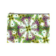 Neo Noveau Style Background Pattern Cosmetic Bag (large) by dflcprints