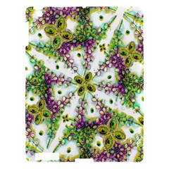 Neo Noveau Style Background Pattern Apple Ipad 3/4 Hardshell Case by dflcprints