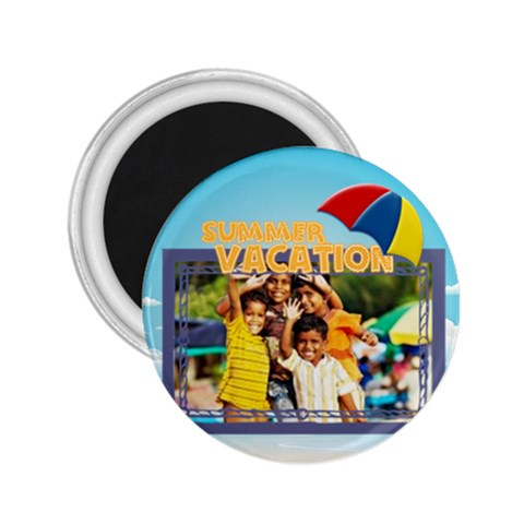 Summer By Summer Time    2 25  Magnet   I53u3lmnmmna   Www Artscow Com Front