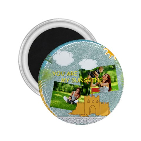 Summer By Summer Time    2 25  Magnet   N2lcgxei1adu   Www Artscow Com Front