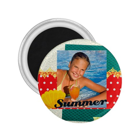 Summer By Summer Time    2 25  Magnet   1u7punoe0c8m   Www Artscow Com Front