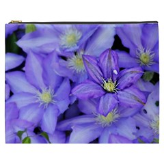 Purple Wildflowers For Fms Cosmetic Bag (xxxl) by FunWithFibro