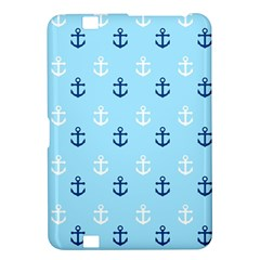 Anchors In Blue And White Kindle Fire HD 8.9  Hardshell Case
