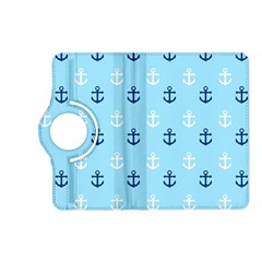 Anchors In Blue And White Kindle Fire Hd 7  (2nd Gen) Flip 360 Case by StuffOrSomething