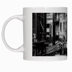 Vintage Venice Canal White Coffee Mug by bloomingvinedesign