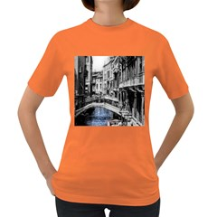 Vintage Venice Canal Women s T Shirt (colored)