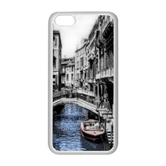 Vintage Venice Canal Apple Iphone 5c Seamless Case (white) by bloomingvinedesign