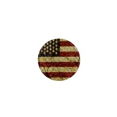 Vinatge American Roots 1  Mini Button by dflcprints