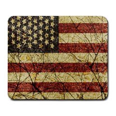 Vinatge American Roots Large Mouse Pad (rectangle) by dflcprints