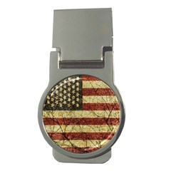 Vinatge American Roots Money Clip (round) by dflcprints