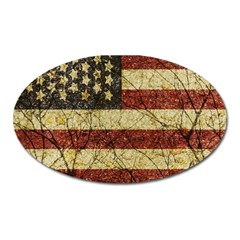Vinatge American Roots Magnet (oval) by dflcprints