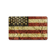 Vinatge American Roots Magnet (name Card) by dflcprints