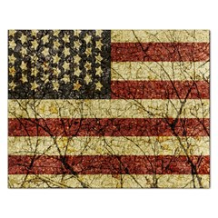 Vinatge American Roots Jigsaw Puzzle (rectangle) by dflcprints