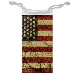 Vinatge American Roots Jewelry Bag by dflcprints