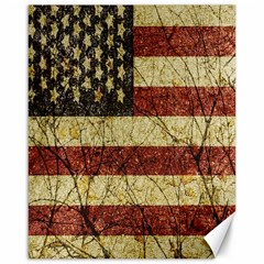 Vinatge American Roots Canvas 16  X 20  (unframed) by dflcprints