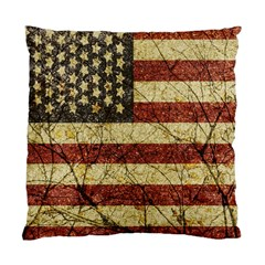 Vinatge American Roots Cushion Case (two Sided)  by dflcprints