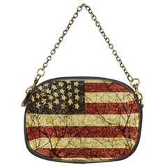 Vinatge American Roots Chain Purse (two Sided)  by dflcprints
