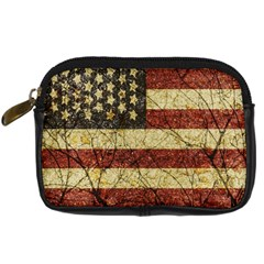 Vinatge American Roots Digital Camera Leather Case by dflcprints