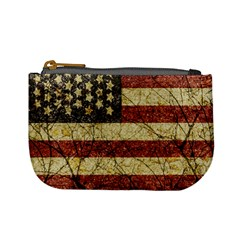 Vinatge American Roots Coin Change Purse by dflcprints