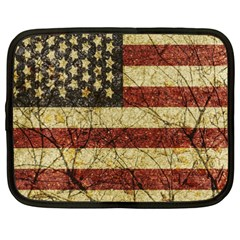 Vinatge American Roots Netbook Sleeve (xxl) by dflcprints