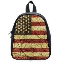 Vinatge American Roots School Bag (small) by dflcprints