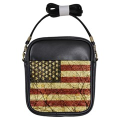 Vinatge American Roots Girl s Sling Bag by dflcprints