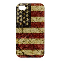 Vinatge American Roots Apple iPhone 4/4S Hardshell Case by dflcprints