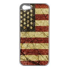 Vinatge American Roots Apple Iphone 5 Case (silver) by dflcprints