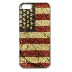 Vinatge American Roots Apple Seamless Iphone 5 Case (clear) by dflcprints
