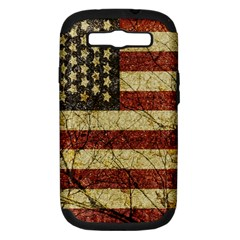 Vinatge American Roots Samsung Galaxy S Iii Hardshell Case (pc+silicone) by dflcprints