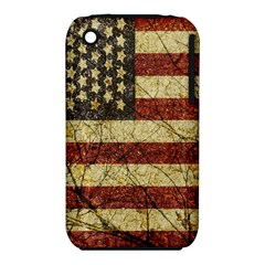 Vinatge American Roots Apple Iphone 3g/3gs Hardshell Case (pc+silicone) by dflcprints