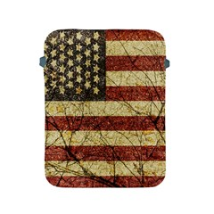 Vinatge American Roots Apple Ipad Protective Sleeve by dflcprints