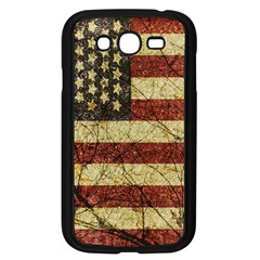 Vinatge American Roots Samsung Galaxy Grand Duos I9082 Case (black) by dflcprints
