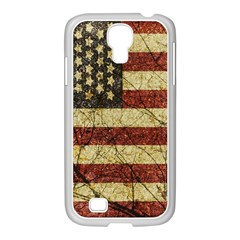Vinatge American Roots Samsung Galaxy S4 I9500/ I9505 Case (white) by dflcprints