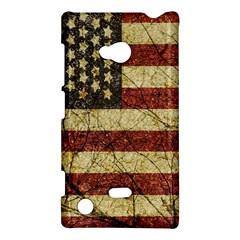 Vinatge American Roots Nokia Lumia 720 Hardshell Case by dflcprints