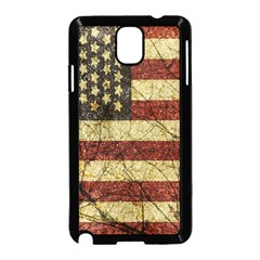 Vinatge American Roots Samsung Galaxy Note 3 Neo Hardshell Case (black) by dflcprints