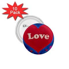 Love Theme Concept  Illustration Motif  1 75  Button (10 Pack) by dflcprints