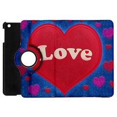 Love Theme Concept  Illustration Motif  Apple Ipad Mini Flip 360 Case by dflcprints