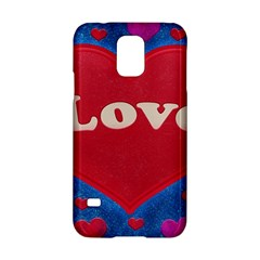 Love Theme Concept  Illustration Motif  Samsung Galaxy S5 Hardshell Case  by dflcprints