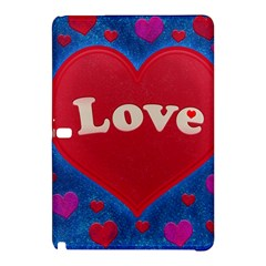 Love Theme Concept  Illustration Motif  Samsung Galaxy Tab Pro 12 2 Hardshell Case by dflcprints