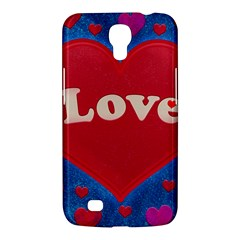 Love Theme Concept  Illustration Motif  Samsung Galaxy Mega 6 3  I9200 Hardshell Case by dflcprints