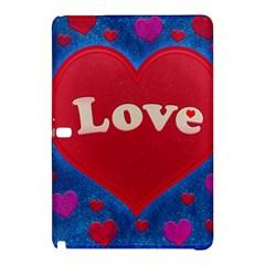Love Theme Concept  Illustration Motif  Samsung Galaxy Tab Pro 12 2 Hardshell Case by dflcprints