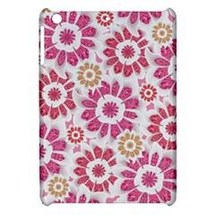 Feminine Flowers Pattern Apple Ipad Mini Hardshell Case by dflcprints