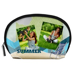 Summer By Summer Time    Accessory Pouch (large)   Jqwpg7iffjrf   Www Artscow Com Front
