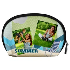 Summer By Summer Time    Accessory Pouch (large)   Jqwpg7iffjrf   Www Artscow Com Back