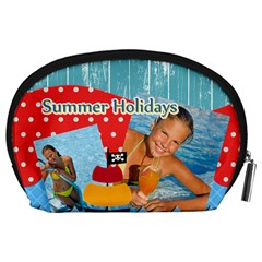 Summer By Summer Time    Accessory Pouch (large)   T5cgak3lnrwt   Www Artscow Com Back