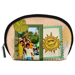 Summer By Summer Time    Accessory Pouch (large)   Cw97fz5fm1nc   Www Artscow Com Front