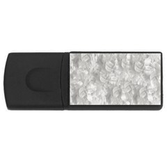 Abstract In Silver 4gb Usb Flash Drive (rectangle) by StuffOrSomething