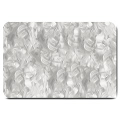 Abstract In Silver Large Door Mat by StuffOrSomething